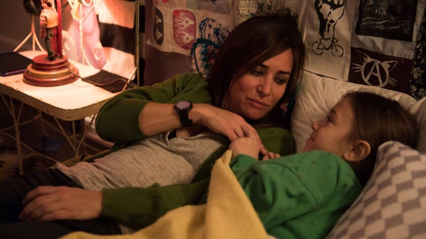 "Pamela Adlon plays a woman raising three daughters (including Olivia Edward, right) in the FX comedy ""Better Things."""