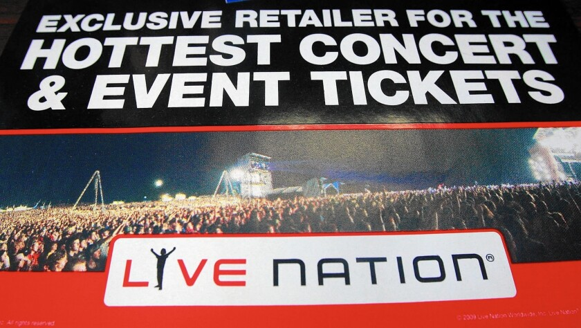 Live Nation said Thursday it has reached an agreement with the Department of Justice to clarify a 2010 decree that ensures fair competition in the ticketing marketplace.