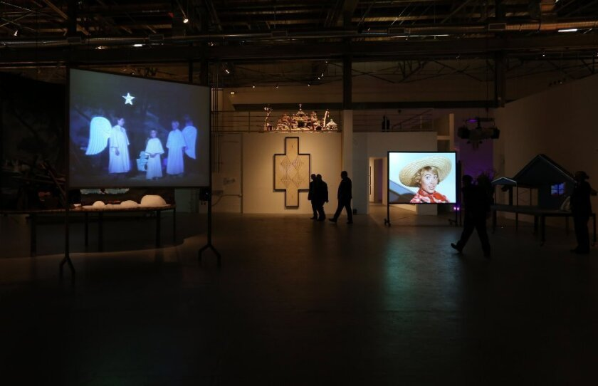 Incorrect information on MOCA via Google searches has caused some to visit on days when the museum is closed. Pictured here: A section of the big retrospective on L.A. artist Mike Kelley.