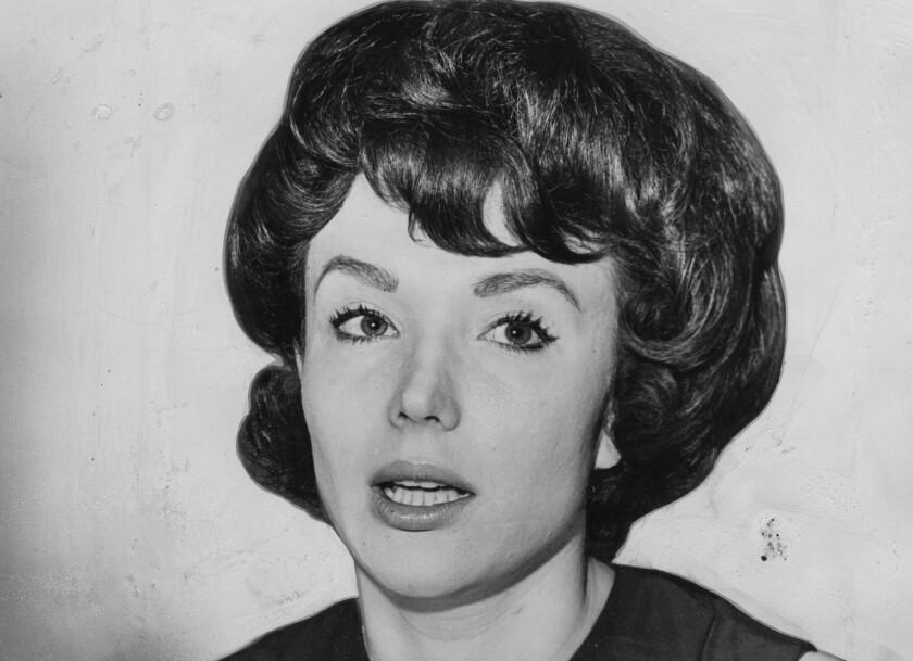 Francine York in 1963