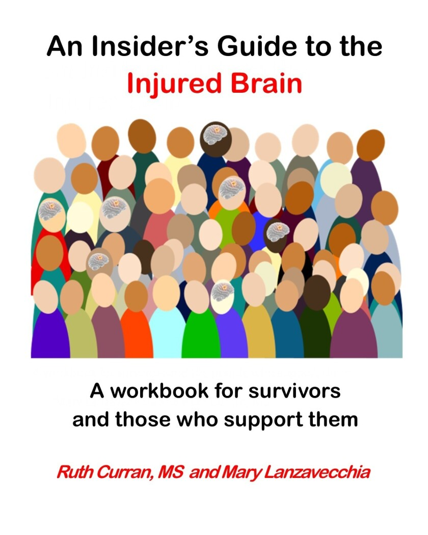 """The cover of """"An Insiders Guide to the Injured Brain."""""""