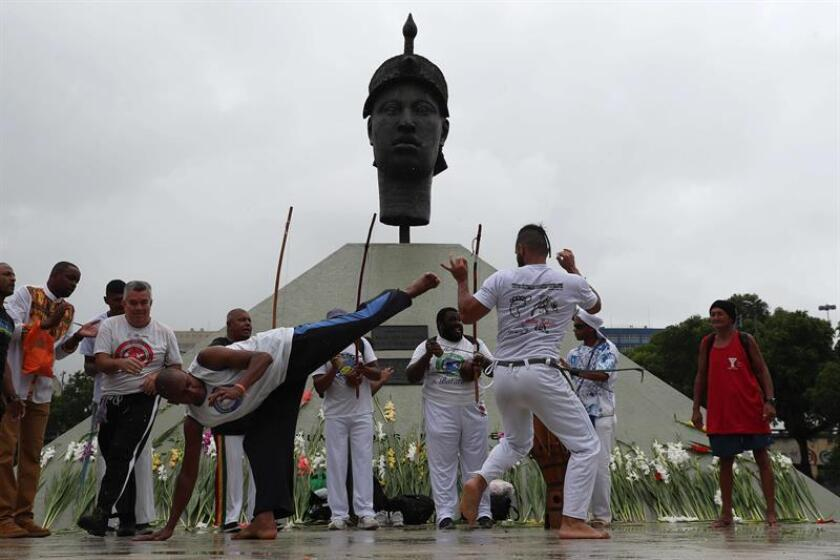 Afro-Brazilians celebrate their heritage, demand equality