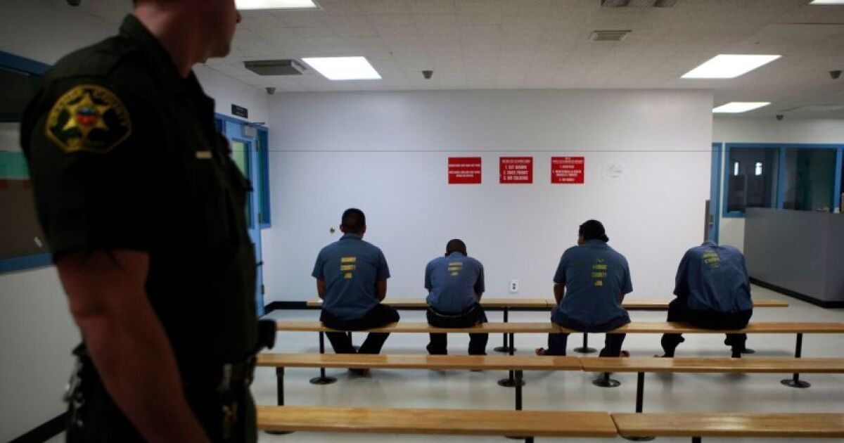 Black and Latino people disproportionately booked in Orange County jails, study finds
