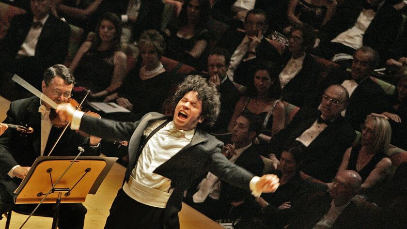 LA Phil artistic director Gustavo Dudamel