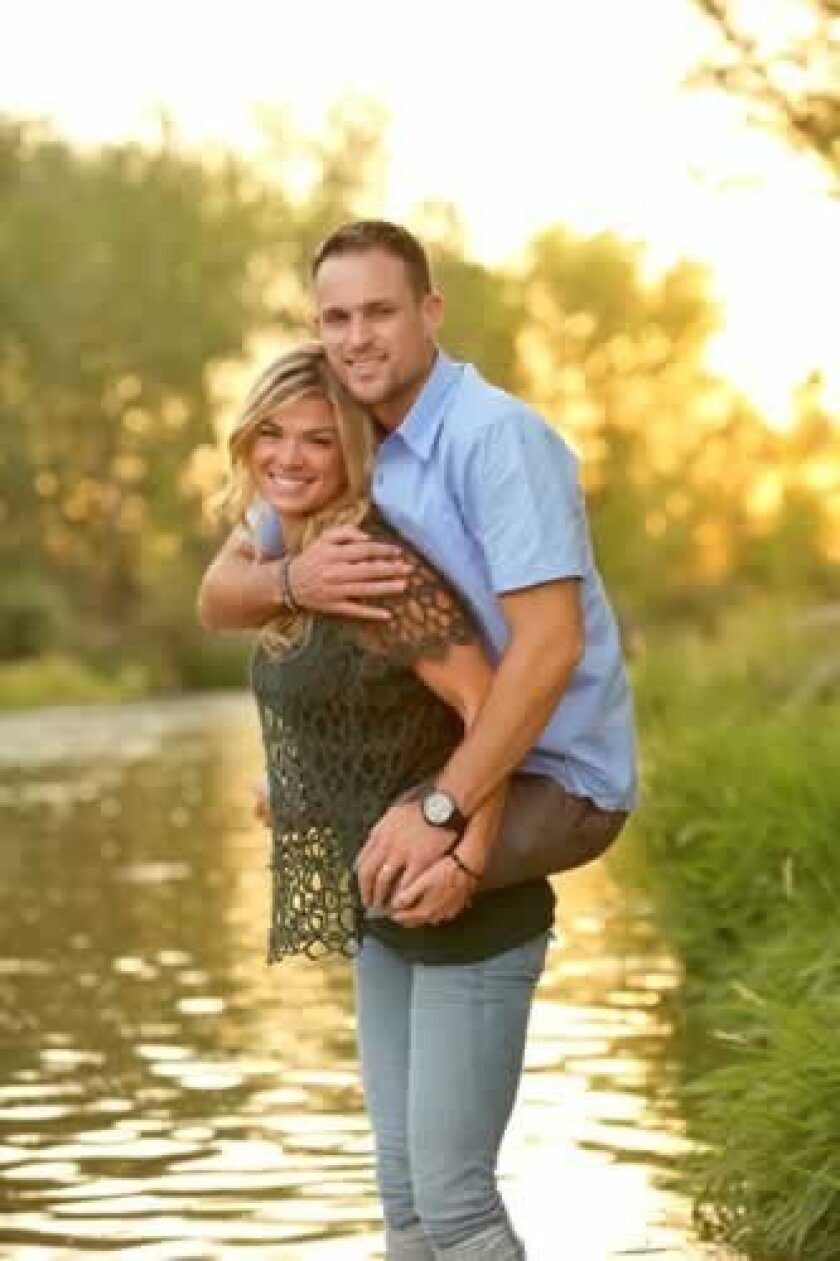 This photo of Jesse and Kelly Cottle went viral and national last week, with thousands of likes on social media. Courtesy