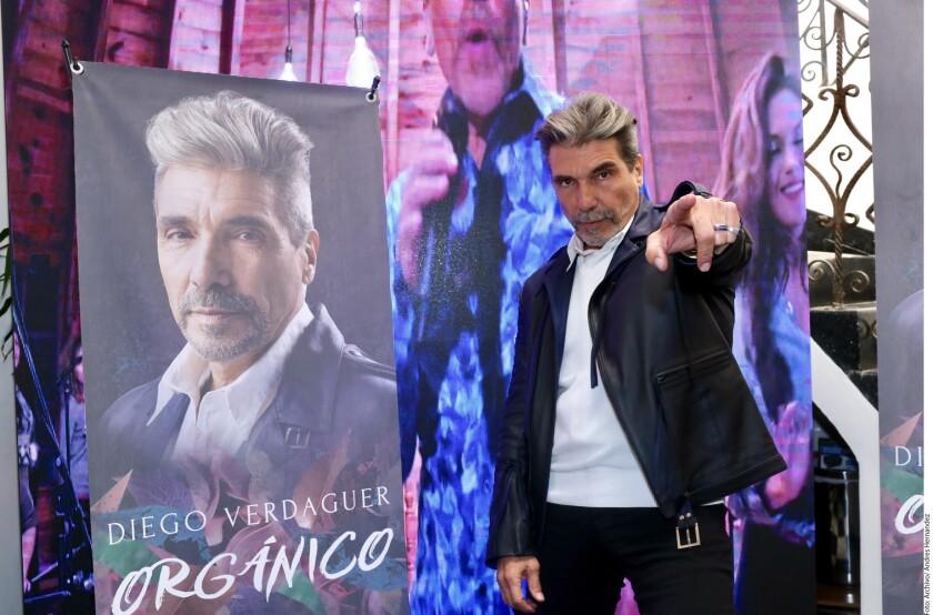 Diego Verdaguer lanza nuevo disco.