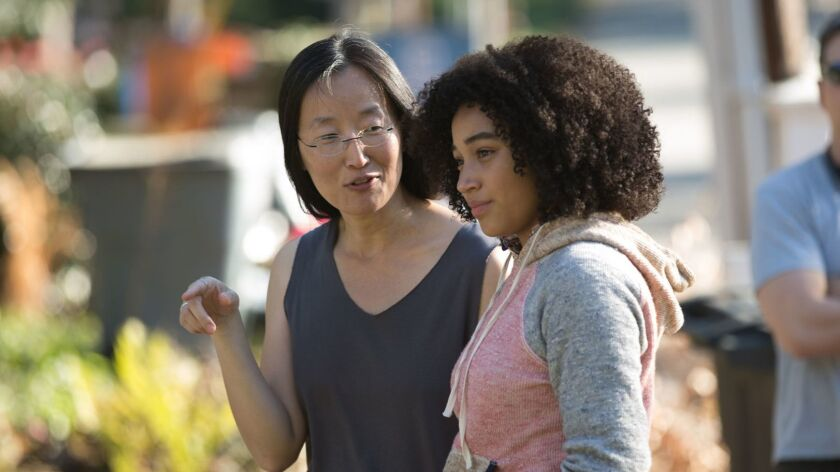 ONE TIME USE - **SUMMER SNEAKS 2018******BTS/ Director JENNIFER YUH NELSON with Ruby (AMANDLA STENBE