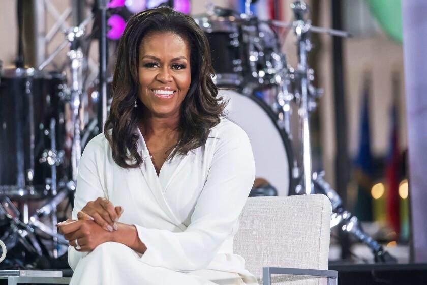 Michelle Obama, ex primera dama de Estados Unidos.
