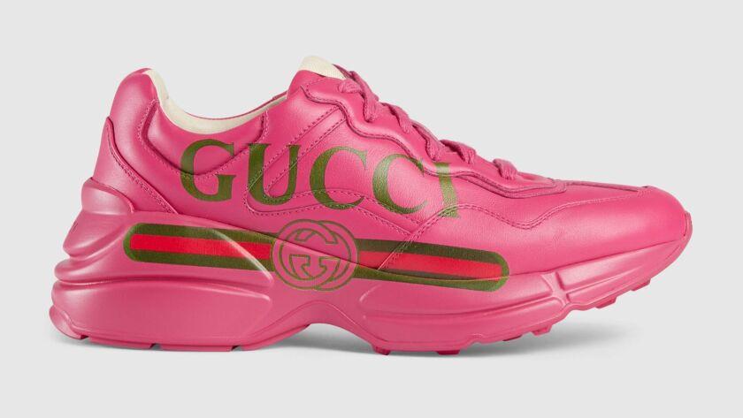 Gucci Rhyton sneaker.