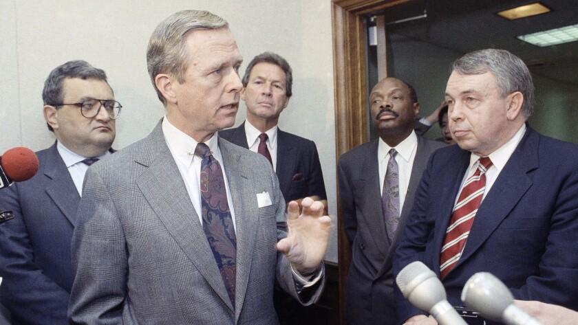 Gov. Pete Wilson in 1991