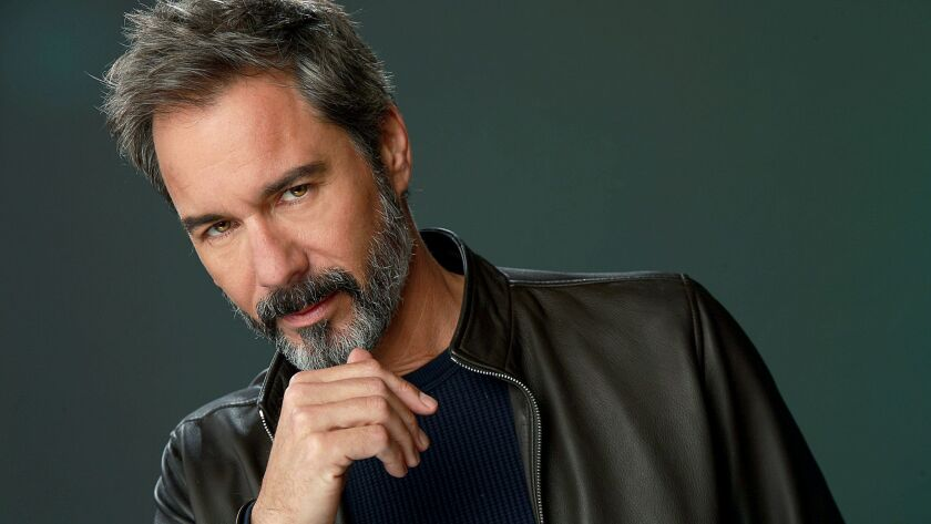 Eric McCormack is photographed at the Los Angeles Times studio for an Emmy Contender chat series.
