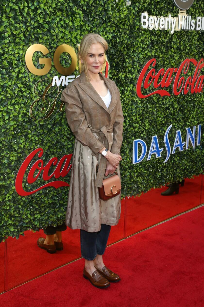 Nicole Kidman at Gold Meets Golden.