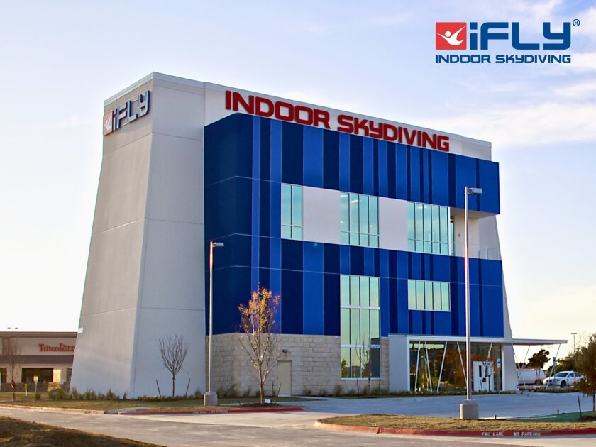 8f39e25bc Indoor skydiving coming to Mission Valley. iFly San Diego will resemble the  company's outlet in Dallas.