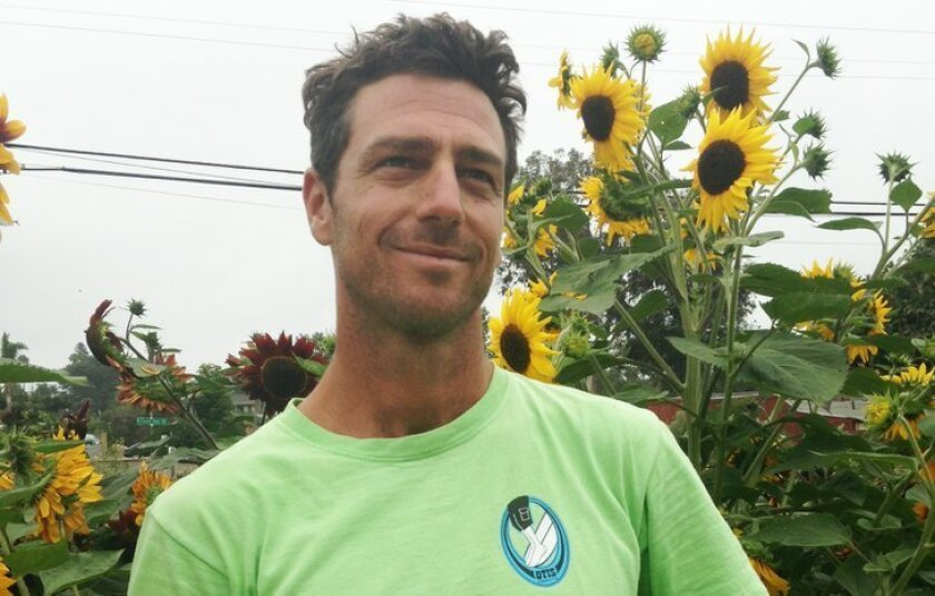 "Ryan ""Farmer Leo"" Goldsmith has grown crops for more than two years at 1920 S. El Camino Real in Encinitas. But he's moving out of Encinitas due to a planned senior facility at the property."