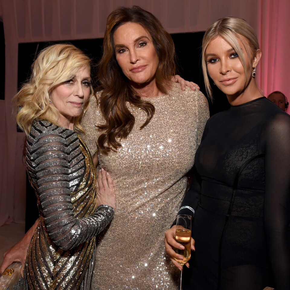 Judith Light, Caitlyn Jenner and Sophia Hutchins