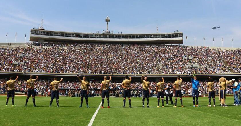 Los Pumas de la UNAM, listos para debutar en el magno torneo continental de clubes.