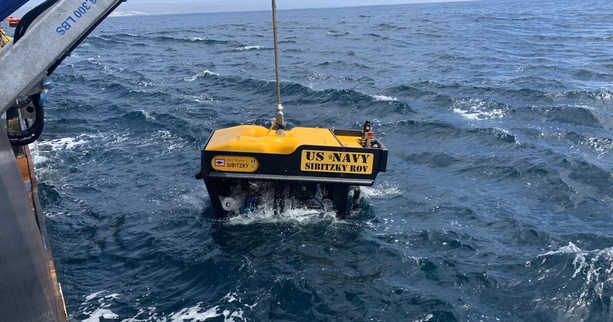 Sunken Marine amphibious vehicle, human remains are found on sea floor off San Clemente Island