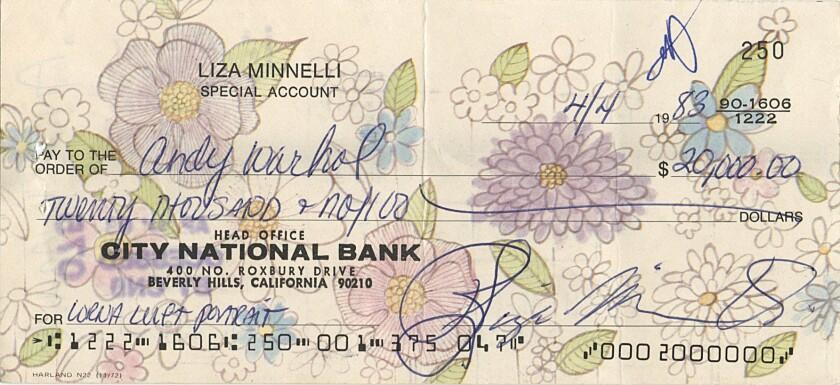 Warhol check