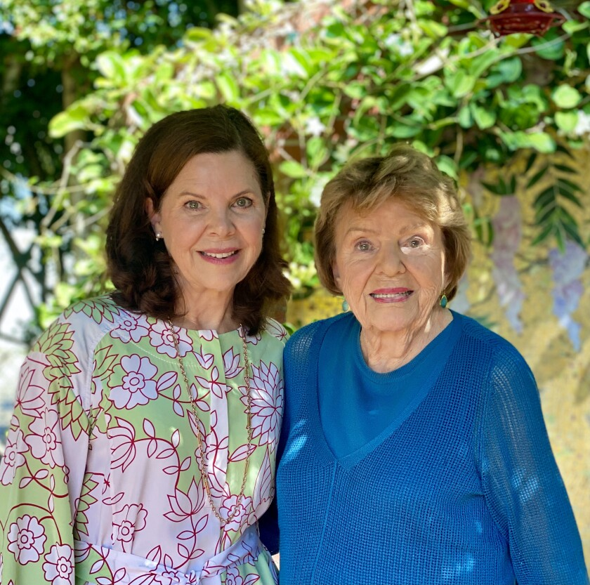 Grace Evans Cherashore (left) and her mother, Anne Evans, have led the Evans Hotels company for decades.