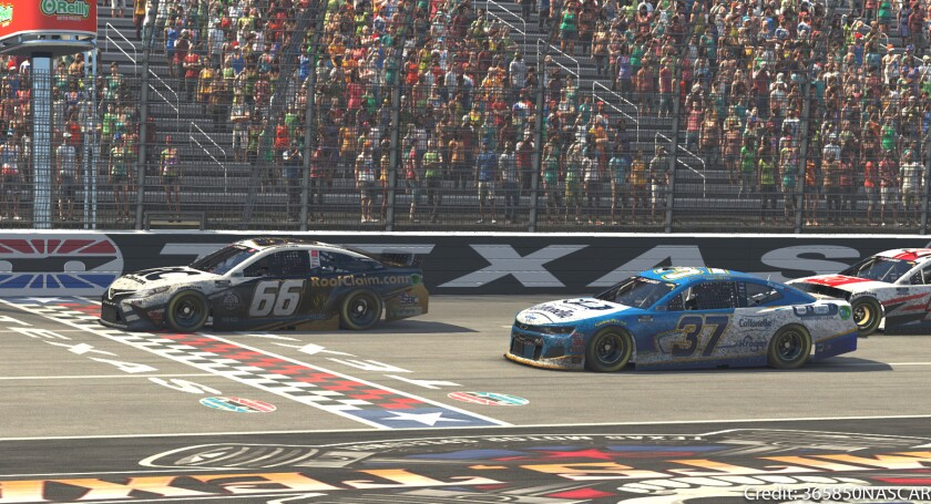 CAPTION 5 - Timmy Hill beats Ryan Preece to the checkered flag.jpg