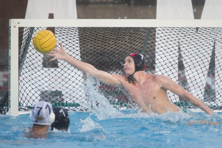 Costa Mesa's Joey Palmblade earns Orange Coast League boys' water polo MVP