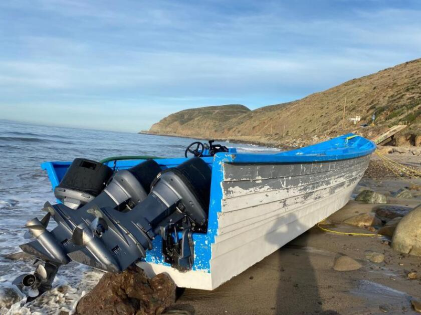 Abandoned boat found in Malibu near 60 pounds of cannabis