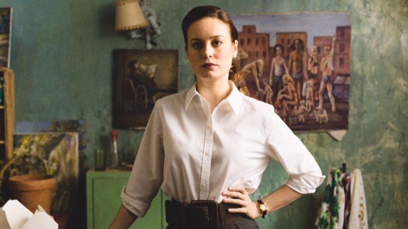 "Brie Larson as ""Jeannette Walls"" in THE GLASS CASTLE. Photo by Jake Giles Netter."