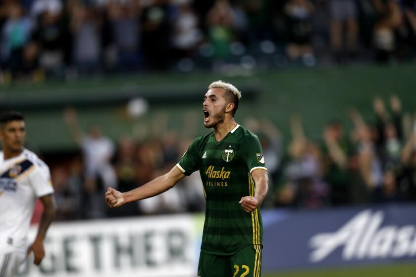 APphoto_MLS Galaxy Timbers Soccer