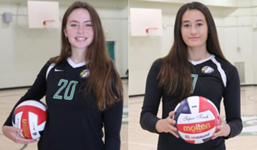 City Section girls' volleyball showdown: Eagle Rock vs. Taft