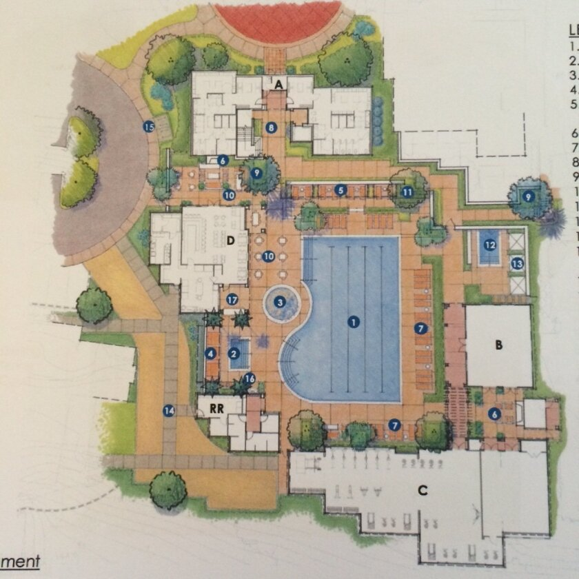 An updated rendering of the Covenant Club pool deck.