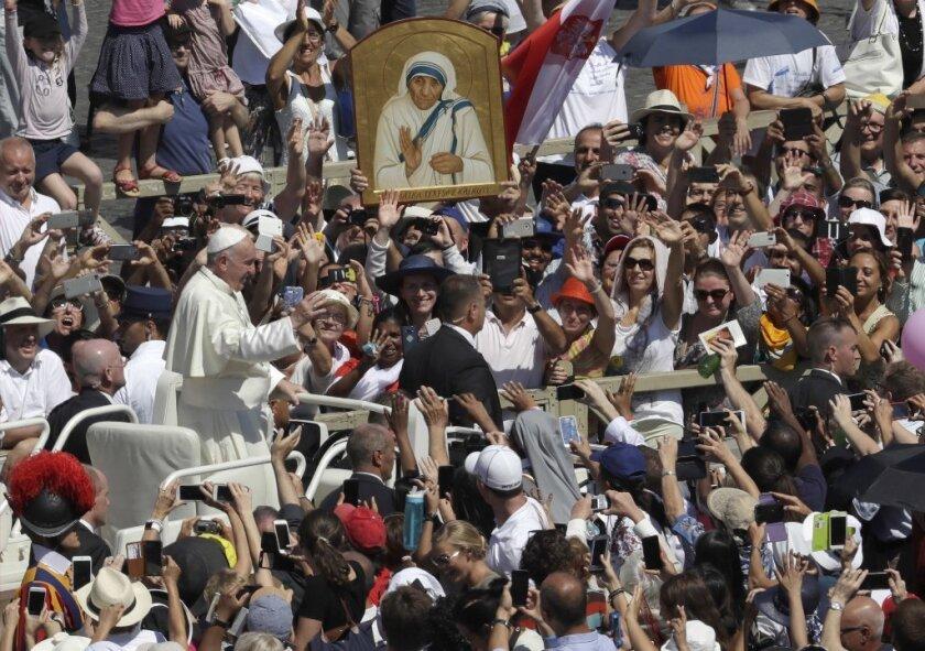 Mother Teresa is canonized