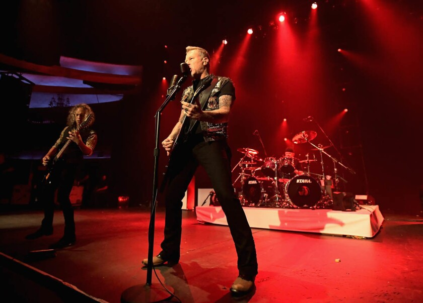 Metallica will make a stop in San Diego on Aug. 6 as part of its 2017 tour. (Charley Gallay/Getty Images for Citi)