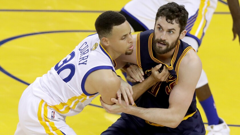 Kevin Love, Stephen Curry