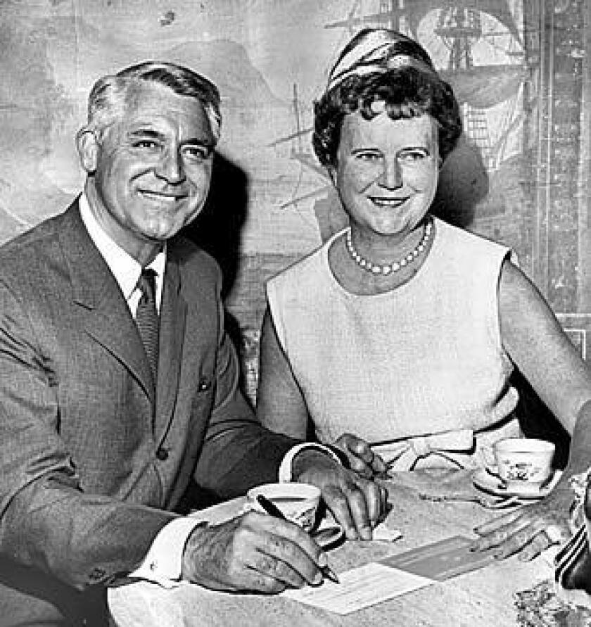 Cary Grant and Dorothy Buffum Chandler