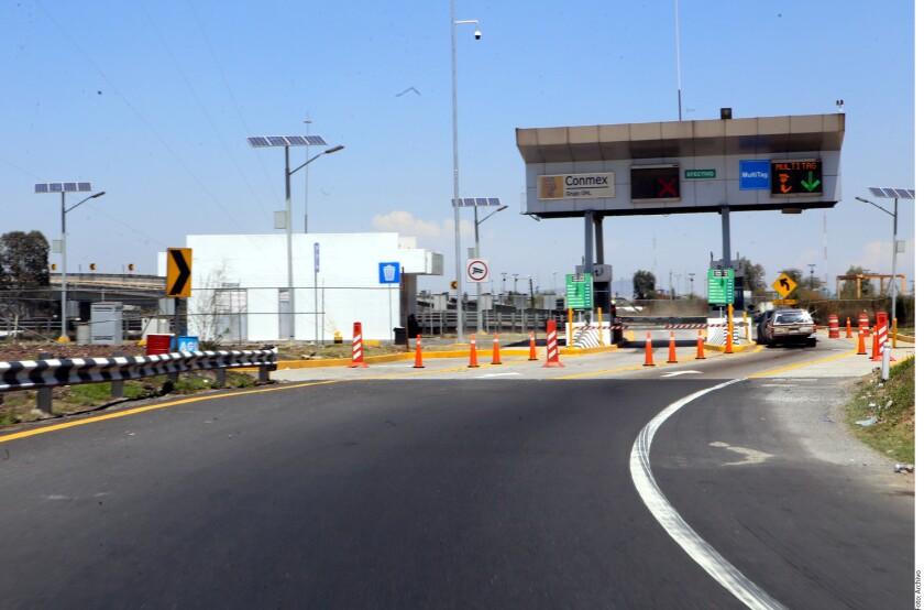 Hasta dos asaltos diarios, en promedio, sufren cada día los transportistas en los 110 kilómetros del Circuito Exterior Mexiquense.