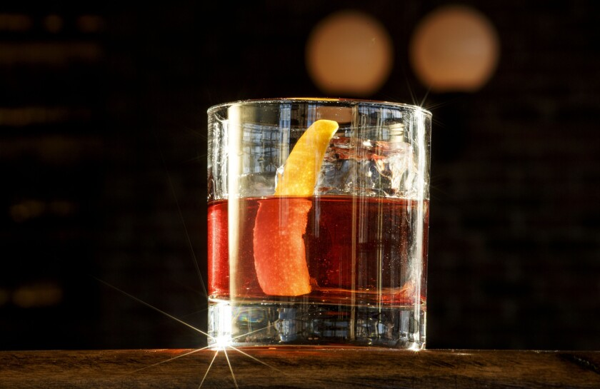 The Negroni at Scopa Italian Roots.