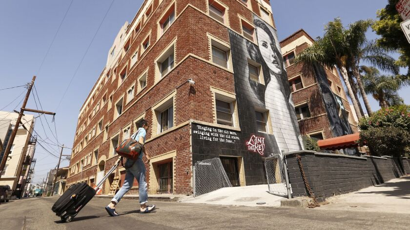 LOS ANGELES, CA – SEPTEMBER 11, 2018: The Ellison located at 15 Paloma Avenue at Speedway in Venice
