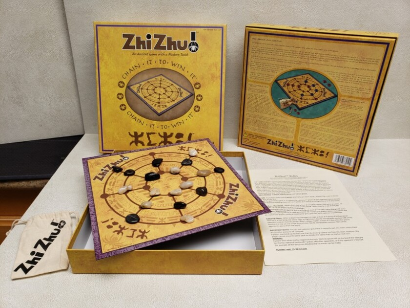 ZhiZhu, invented by a Del Mar resident, is based on an ancient game.