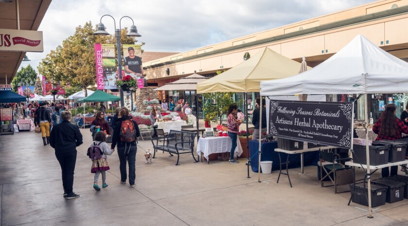 "The San Diego Vintage Flea Market is moving to Grossmont Center in March and its layout will be similar to a ""pop-up"" market that drew a good crowd last year at the La Mesa mall."