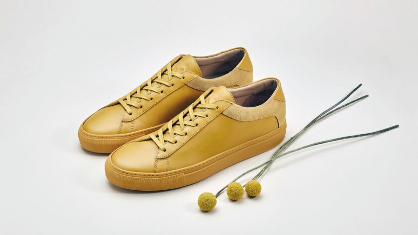 KOIO Leather sneakers from New York-based brand Koio are made in Italy and sold through the brand?s