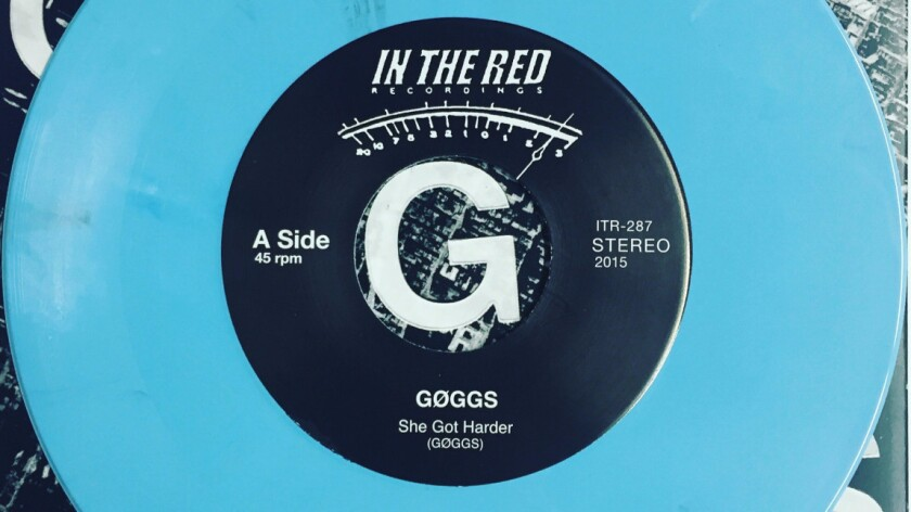 """She Got Harder"" is the first song on the self-titled new album by Los Angeles rock band GØGGS."