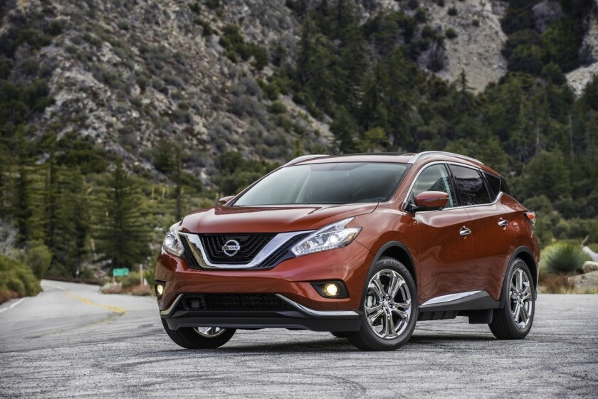 As the halo vehicle for Nissan's wide range of bold crossovers and SUVs, Murano expresses Nissan's advanced design direction Ð including its V-motion front end, LED signature boomerang lights and the unique floating roof.