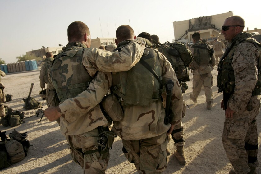 Veterans fiction