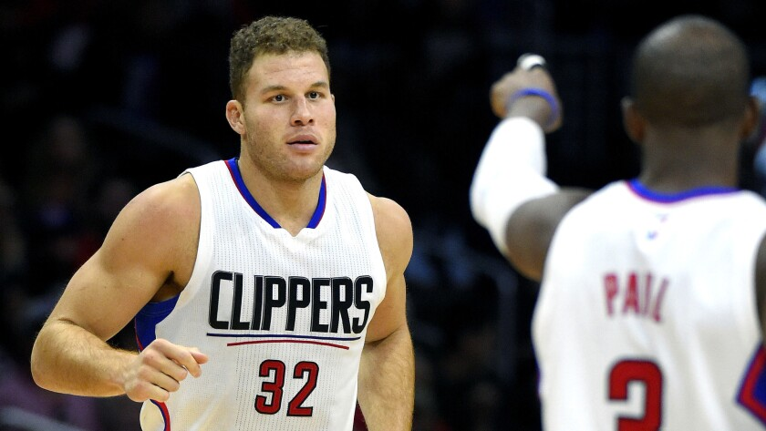 Clippers forward Blake Griffin has no timetable for a return to the lineup, although he must still serve a four-game suspension once he recovers from his injuries.