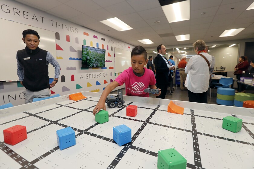 Children delight in newly renovated Boys & Girls Club of Costa Mesa