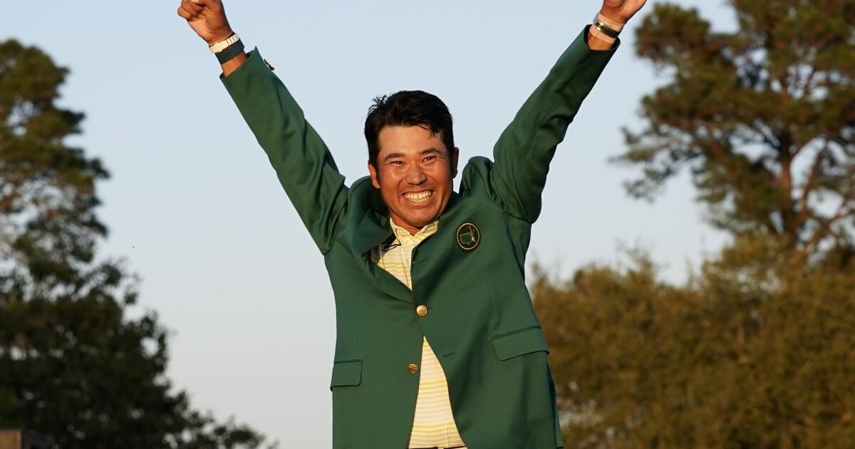 Column: Hideki Matsuyama's historic Masters win carries different weight in Japan