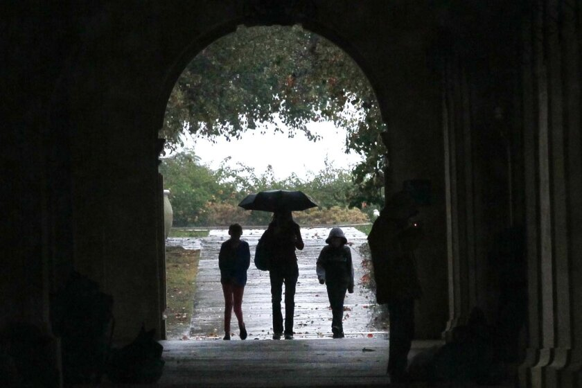 San Diego's unusually wet May continues, with rain expected Thursday, Sunday and again late next week.