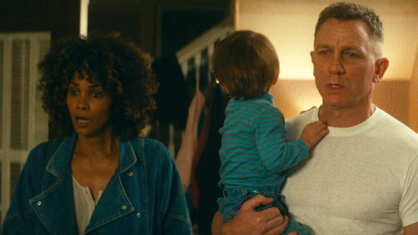 "Halle Berry and Daniel Craig in the movie ""Kings."""