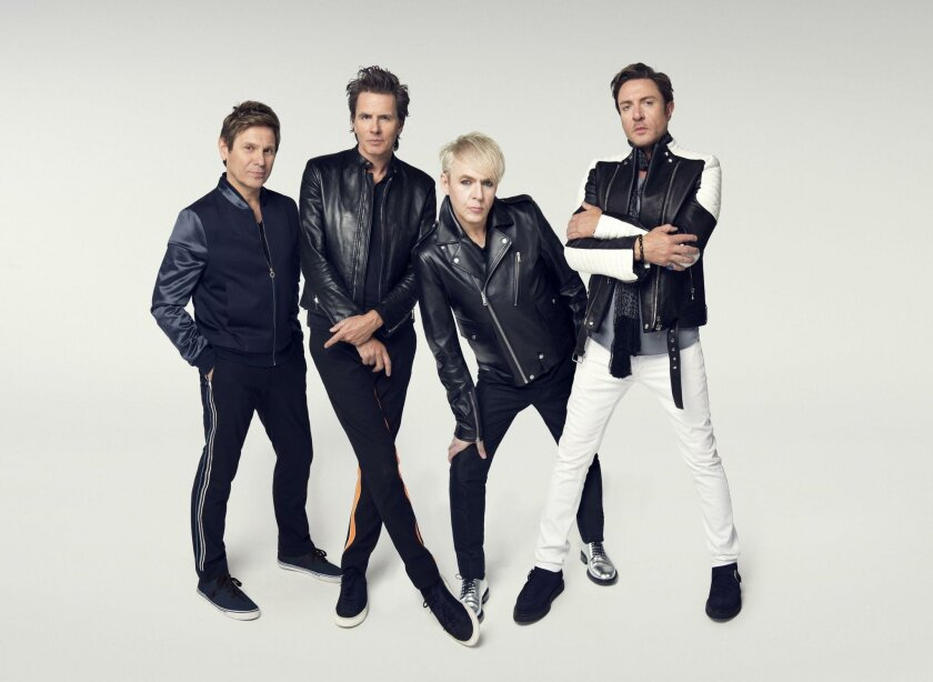 Duran Duran from left: Andy Taylor, John Taylor, Nick Rhodes and Simon Le Bon. Stephanie Pistel photo