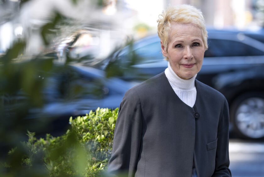 New York-based advice columnist E. Jean Carroll claims Donald Trump sexually assaulted her in a dressing room at a Manhattan department store in the mid-1990s. Trump denies knowing Carroll.